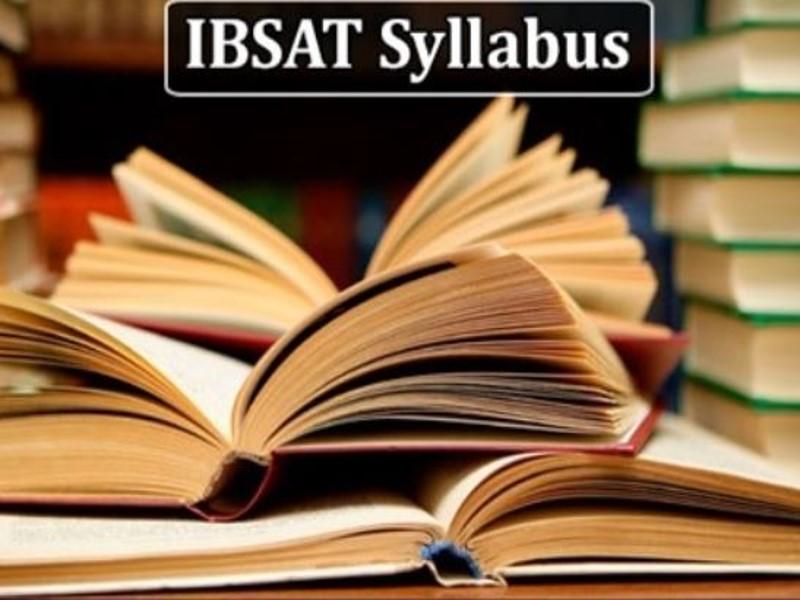 IBSAT 2021 Syllabus