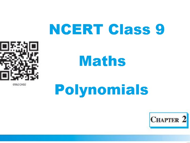 NCERT Class 9 Maths Chapter 2 Polynomials