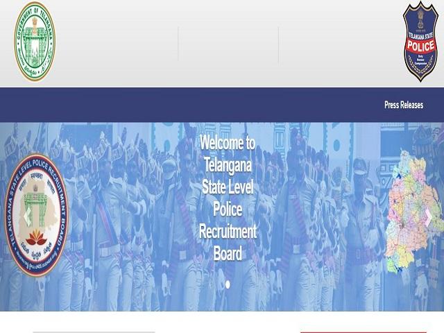 Telangana Police Recruitment 2021