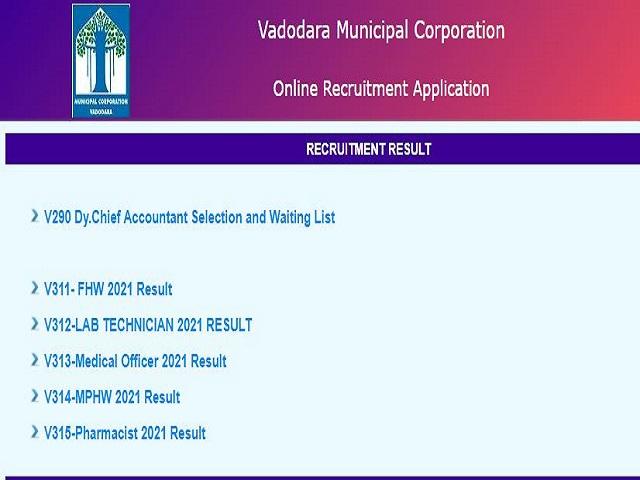 vmc result 2021