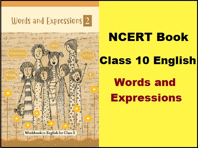NCERT Class 10 English Words and Expressions Workbook