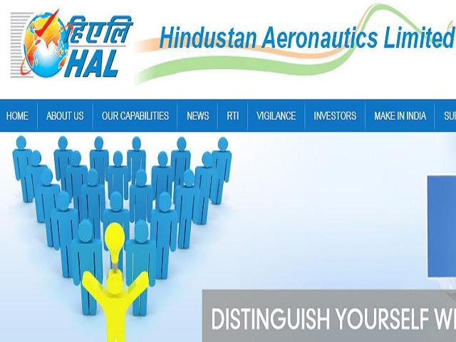 Hindustan Aeronautics Limited Job Notification