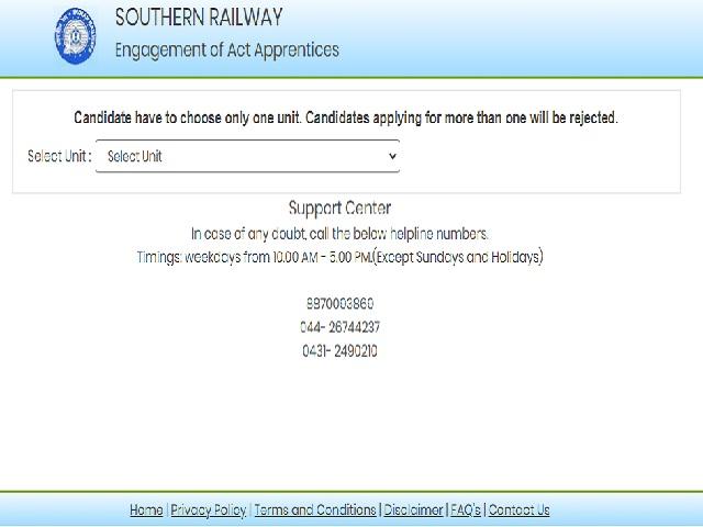 Southern Railway Apprentice 2021