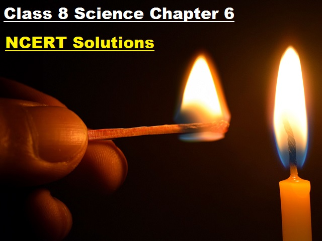 NCERT Solutions for Class 8 Science Chapter 6 - Combustion and Flame