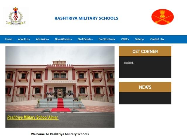 Rashtriya Military School Recruitment 2021 for Group C Posts, Download Notice @rashtriyamilitaryschoolajmer.in