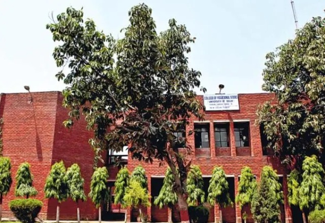 Vocational courses in DU for12th Class Pass Students