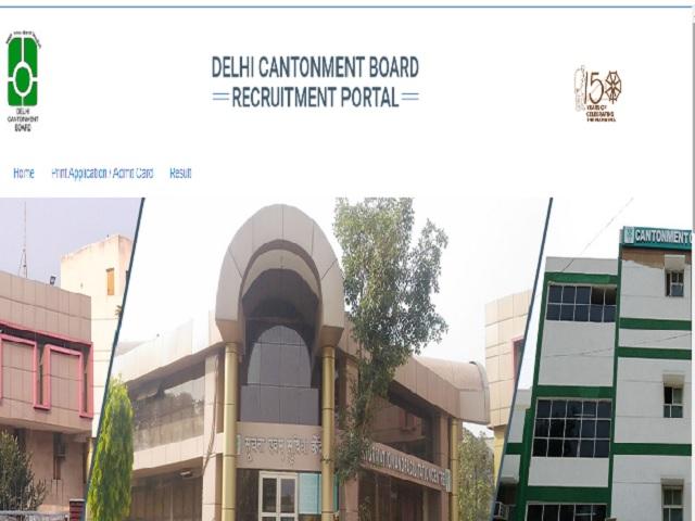 Cantonment Board Delhi Recruitment 2021