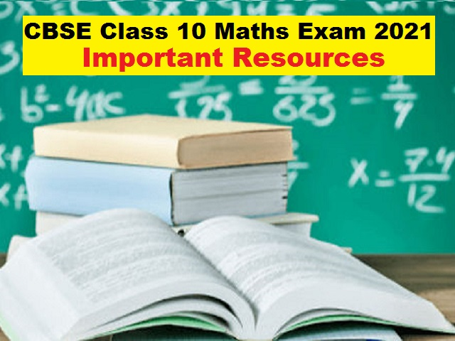 CBSE Class 10 Maths Board Exam 2021