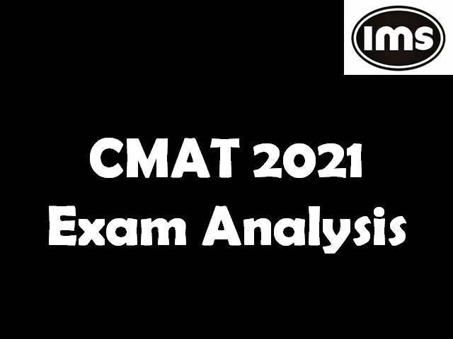 CMAT 2021 Exam Analysis Slot 1