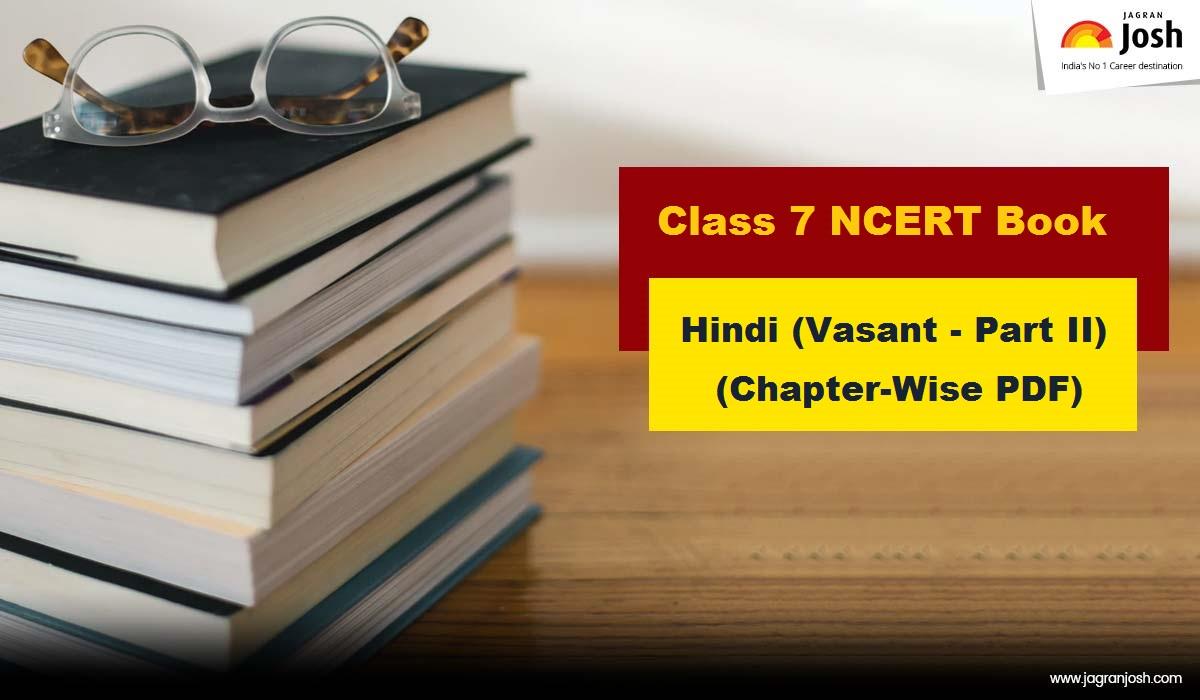 NCERT Book for Class 7 Hindi - Vasant