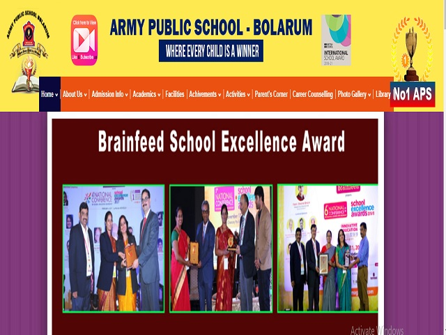 Army Public School Bolarum, Secunderabad Recruitment 2021: Apply Teaching & Non-Teaching Posts
