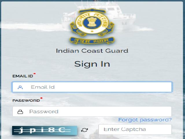 Indian Coast Guard Navik Admit Card 2021