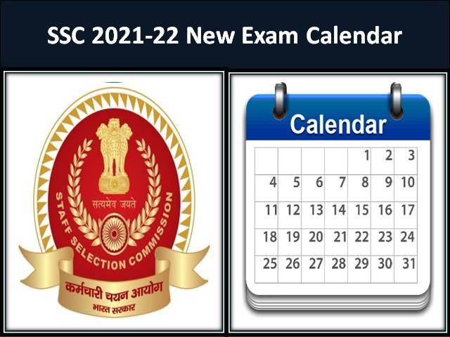 SSC Exam Calendar 2022-21 Released @ssc.nic.in