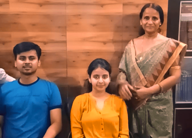 Success Story: Nandini and Sachin Agarwal became CA Exam topper
