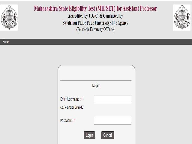 Maharashtra SET 2021 Admit Card