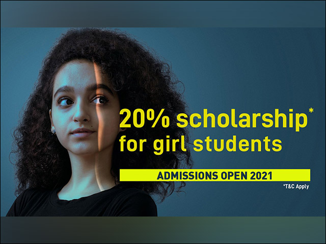 20% scholarship for female students by UPES to support their  professional ambitions