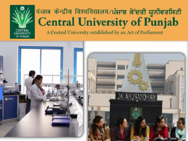 Central University of Punjab (CUP) Recruitment 2021