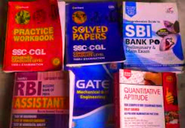 Books for SSC, UPSC, IBPS PO and other competitive exams