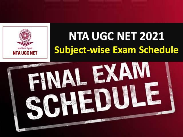 UGC NET 2021 Revised Exam Schedule Released by NTA @ugcnet.nta.nic.in