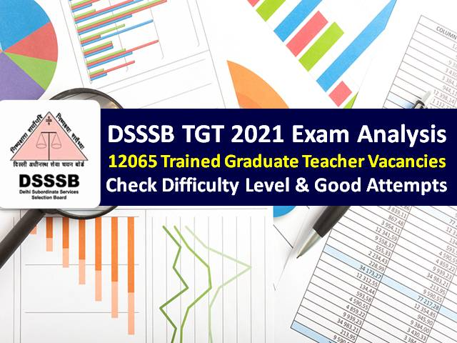 DSSSB 2021 TGT Exam Analysis (2nd to 8th September): Check Difficulty Level of Maths/Hindi/Science/Languages Question Paper & Good Attempts to Clear Cutoff Marks