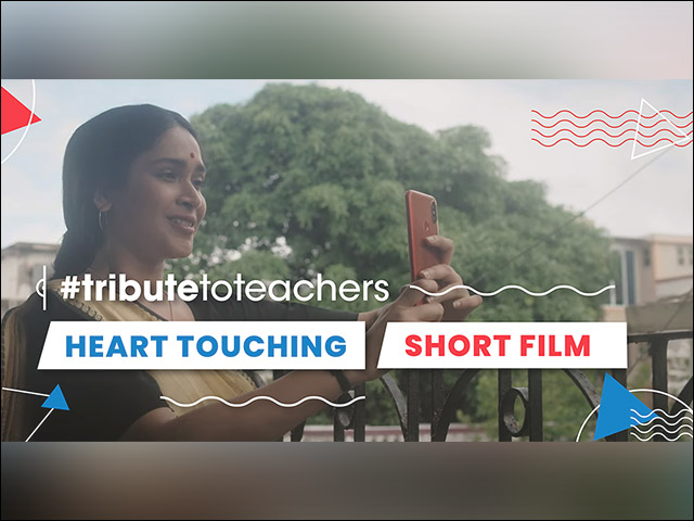 A Heart Touching Short Film (Tribute To Teachers) Released; Goes Viral - A Must Watch on Teacher's Day