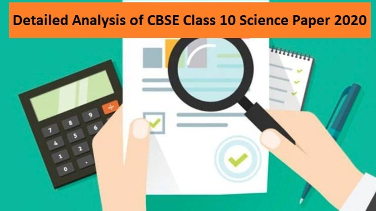 CBSE Class 10 Science Exam 2020
