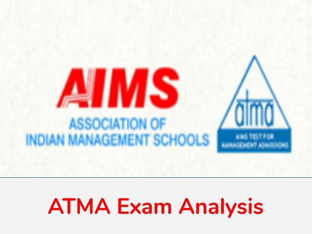 ATMA 2020 Exam Analysis