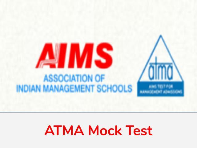 ATMA Mock Test 2021