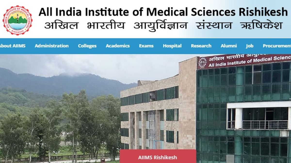 AIIMS Rishikesh Professor, Additional Professor and Other Posts 2020