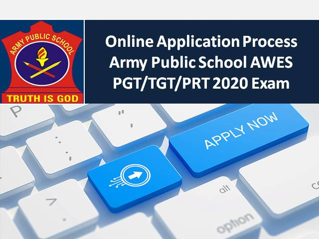 Army Public School AWES PGT/TGT/PRT 2020 Teacher Recruitment Registration Till 20th Oct: Check How to Apply Online @aps-csb.in