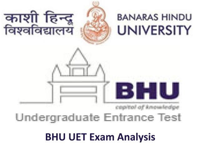 BHU UET Exam Analysis 2020