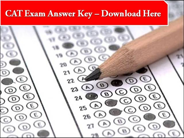CAT 2020 Answer Key