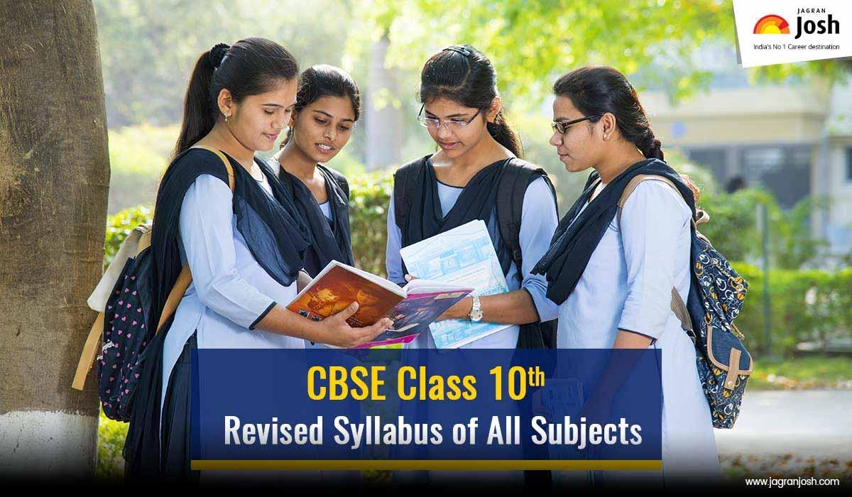 CBSE Class 10 Syllabus 2020-2021