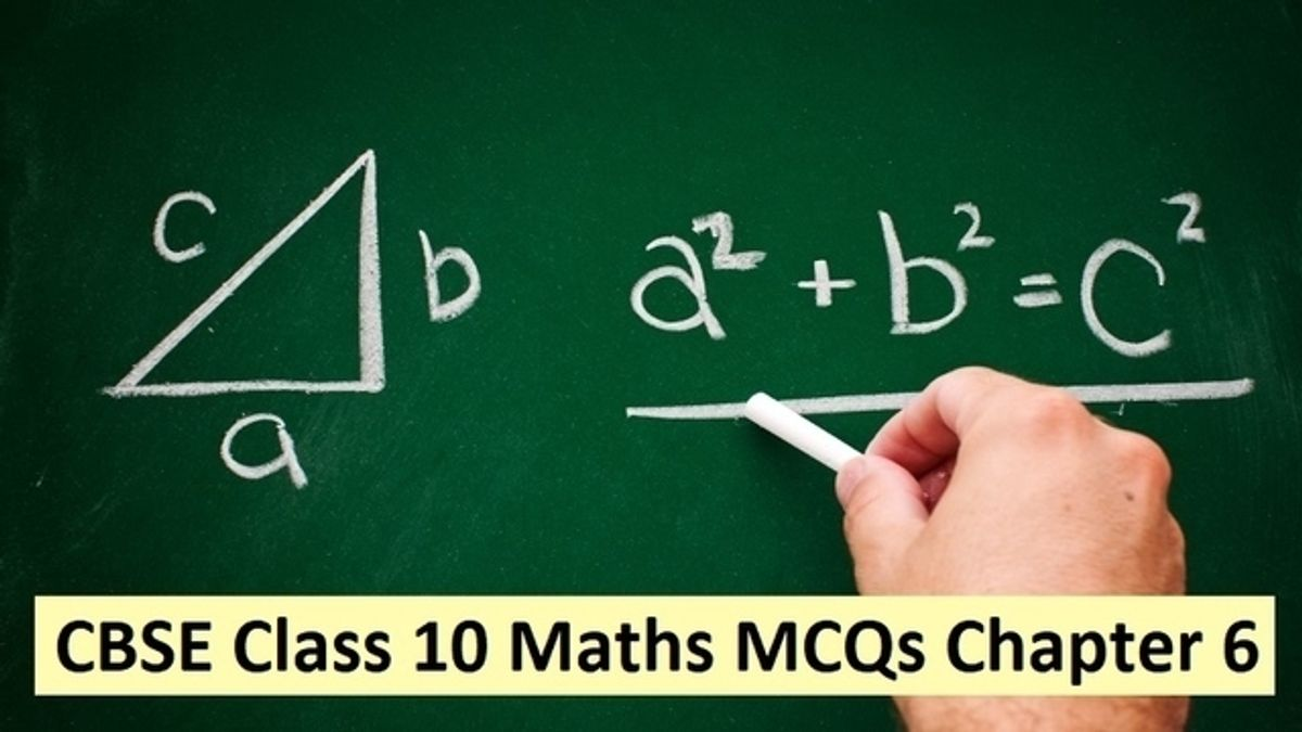CBSE 10th Maths Exam 2020: Important MCQs from Chapter 6 Triangles with Detailed Solutions