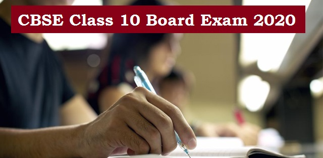 CBSE Class 10 Marking Schemeand Answers for Sample Papers 2020