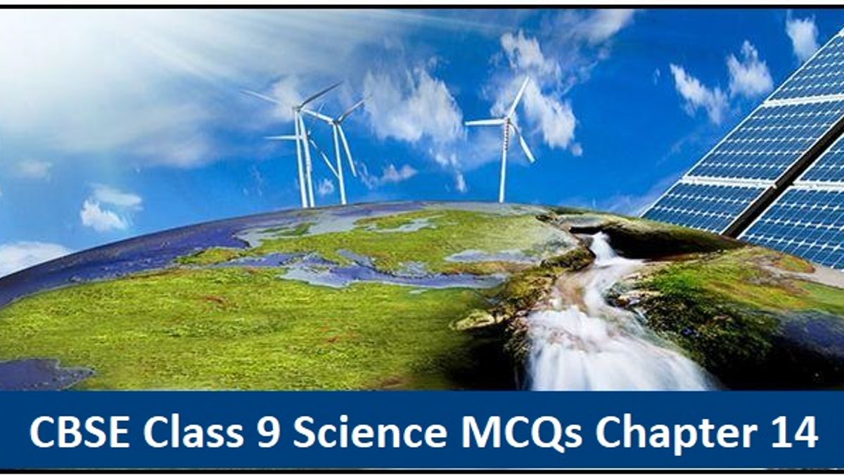 CBSE Class 9 Science Important MCQs from Chapter 14 Natural Resources for Annual Exam 2020