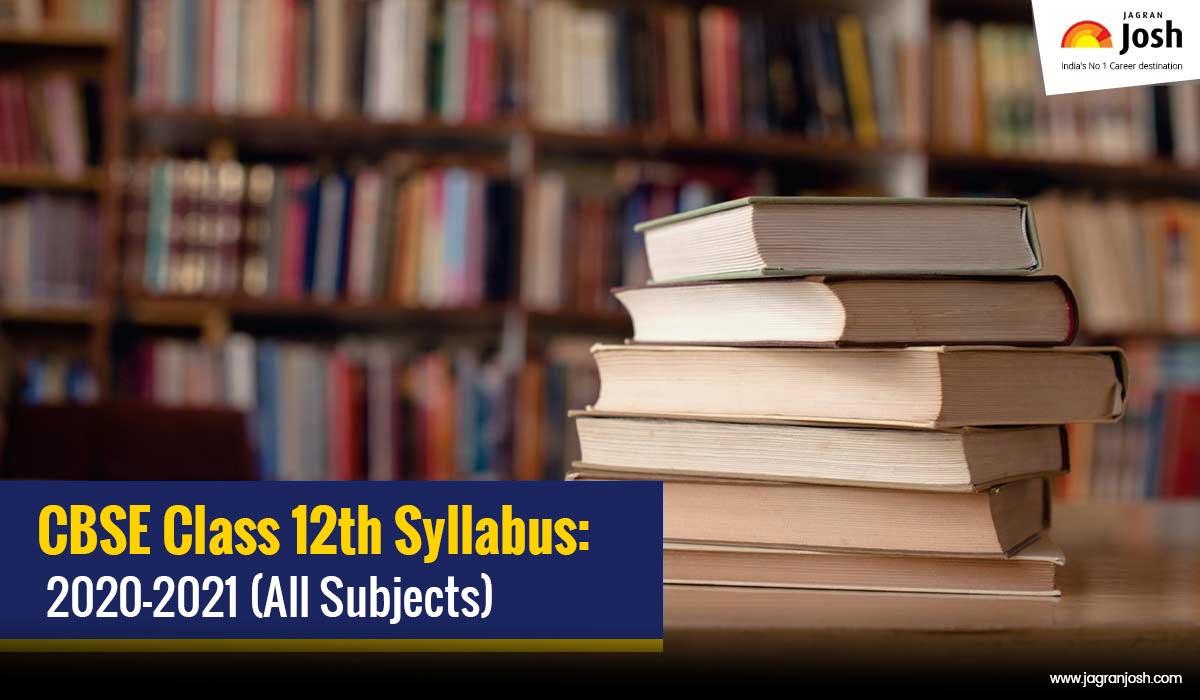 CBSE Class 12 Syllabus 220-21