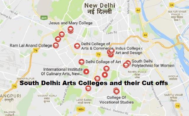 South Delhi Arts Colleges