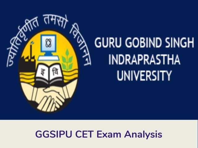GGSIPU BBA CET Exam Analysis 2020