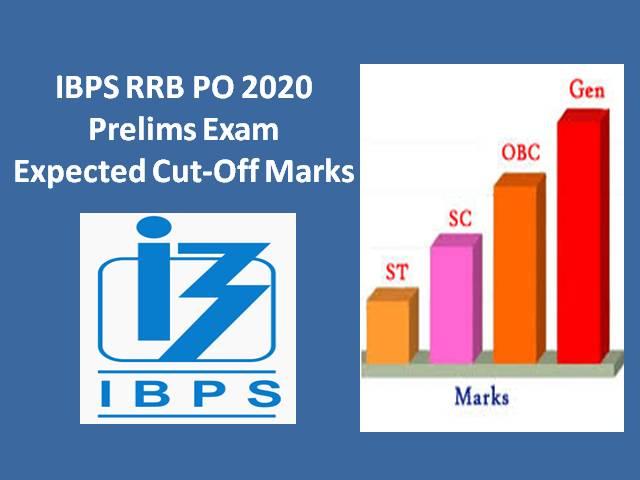 IBPS RRB PO Prelims 2020 Expected Cutoff Marks: Check IBPS RRB PO Officer Scale-1 2020 Expected Cutoff alongwith Previous Cutoff Marks