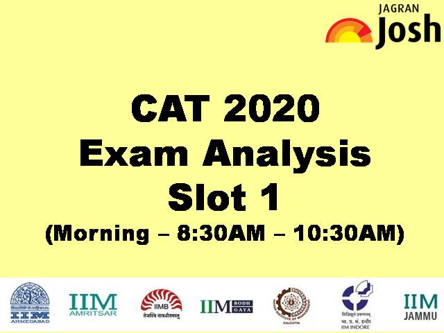 CAT 2020 Exam Analysis – Slot 1 Detailed Exam Analysis, Expected Cut-off, Level of Difficulty
