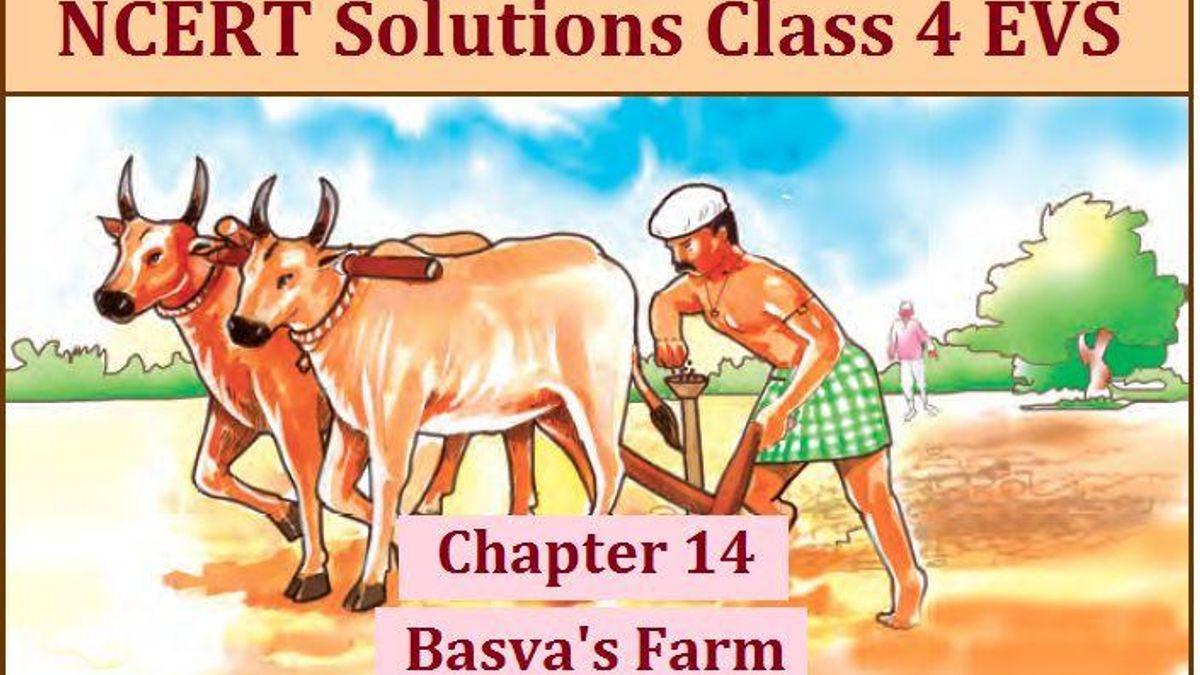 NCERT Solutions for Class 4 EVS Chapter 14: Basva's Farm