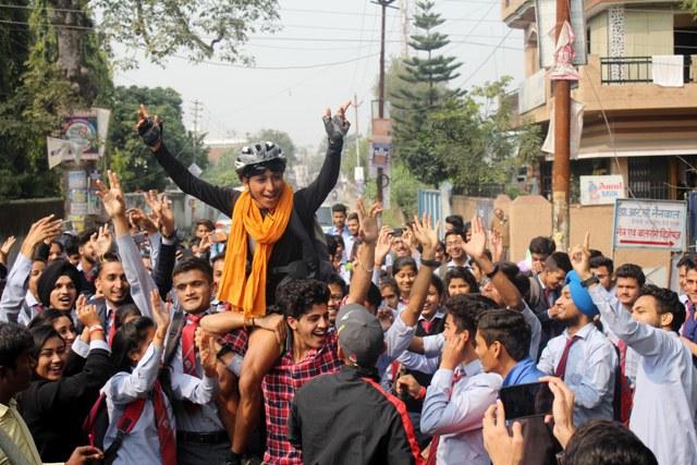 Doon's Pradeep Rana sets a New World Record in Cycling