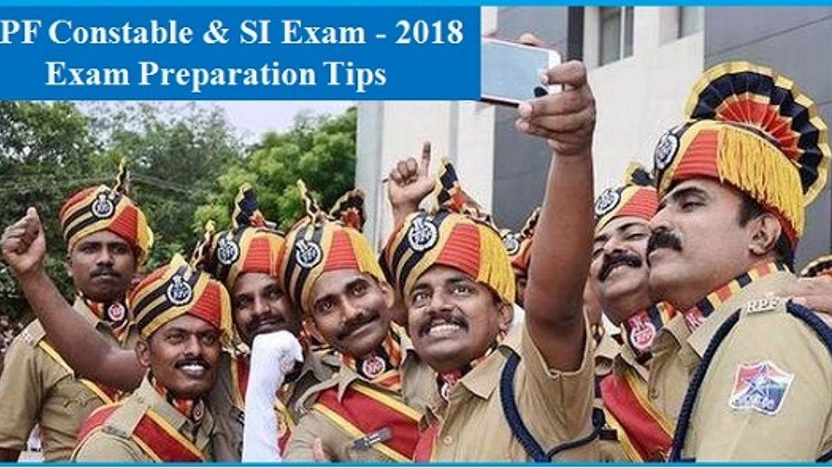 RPF भर्ती परीक्षा 2018 की बेहतर तैयारी के लिए महत्वपूर्ण टिप्स