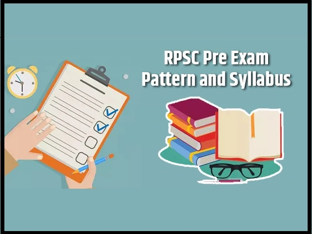 RPSC Pre Exam Pattern and Syllabus