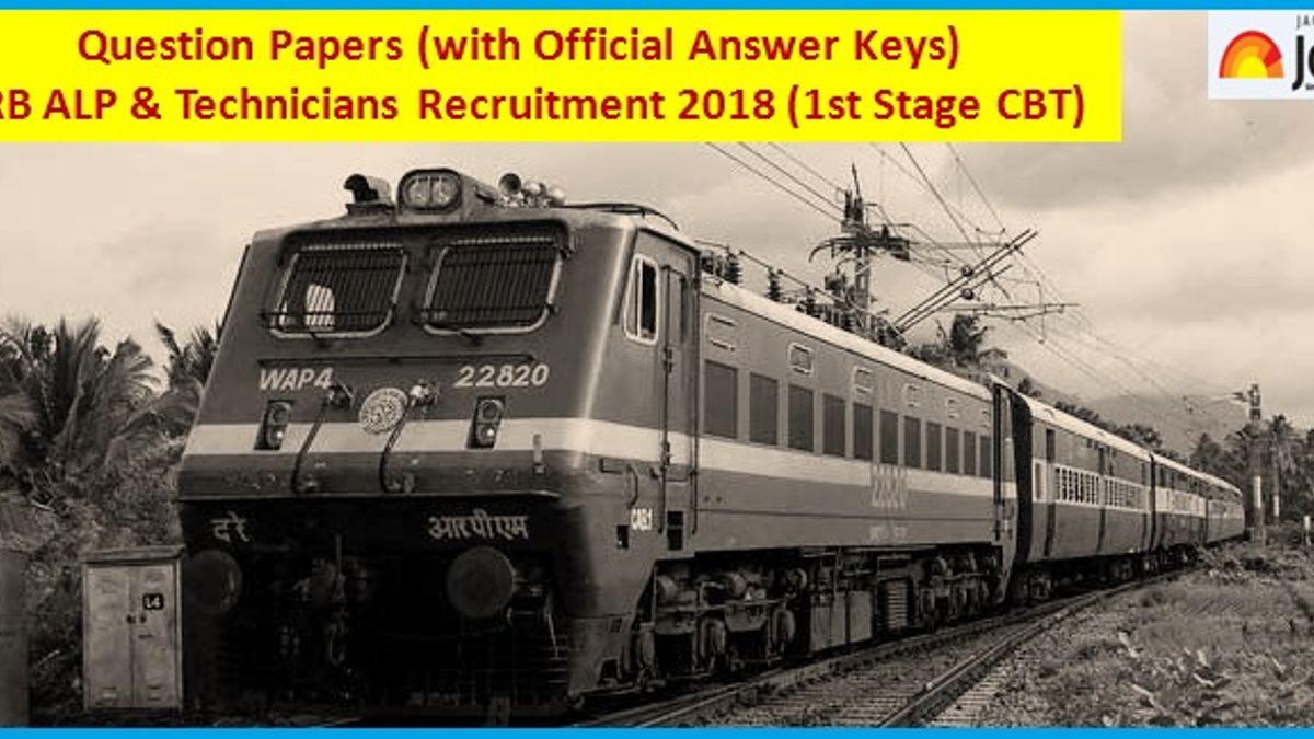 RRB ALP Answer Key 2018