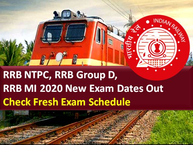 RRB NTPC 2020/RRB Group D 2020/RRB MI 2020 New Exam Dates Out: Railway Board Chairman Vinod Kumar Yadav Announced Fresh RRB 2020 Exam Schedule in a Press Conference