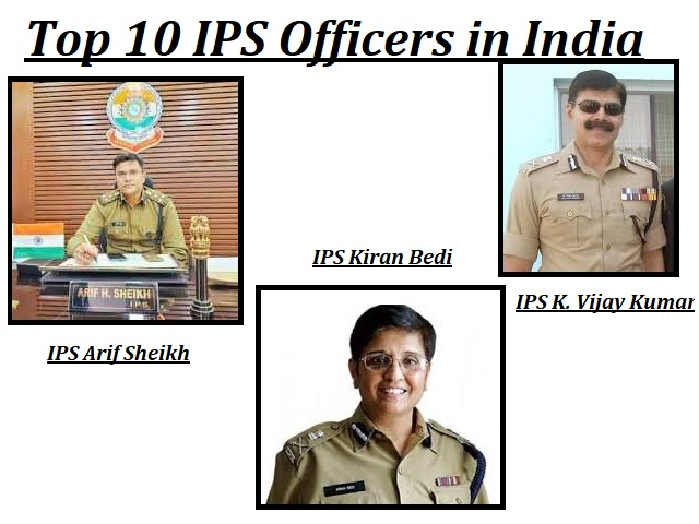 Top 10 IPS Officers in India