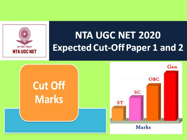 UGC NET 2020 Expected Cutoff Marks Subjectwise: Check Categorywise (Gen/EWS/OBC/SC/ST) UGC NET Expected Cutoff & Minimum Qualifying Marks