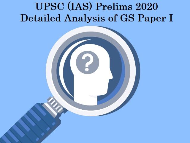 UPSC IAS Prelims 2020: Detailed Analysis of GS Paper I (Economics Questions)